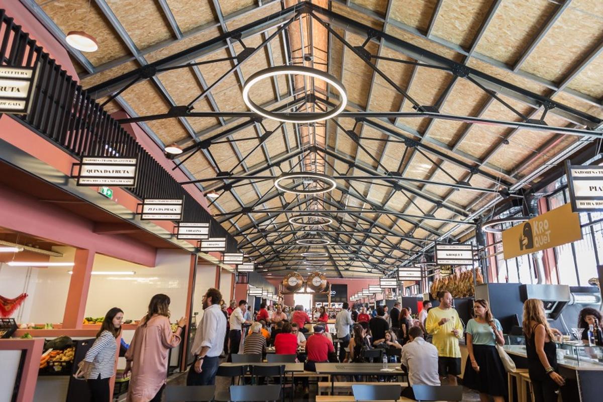 Mercado Beira-Rio em Gaia abre portas renovado | in Dinheiro Vivo